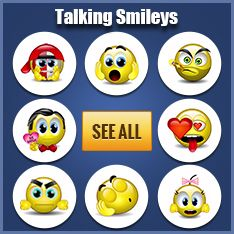 Animated Emoticons - Talking Smileys