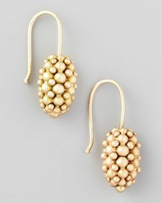 Ted Muehling 2017 Gold Raspberry earrings