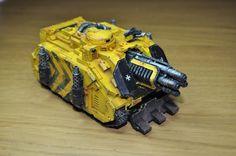 Gilly's Imperial Fist Deimos Vindicator Laser Destroyer