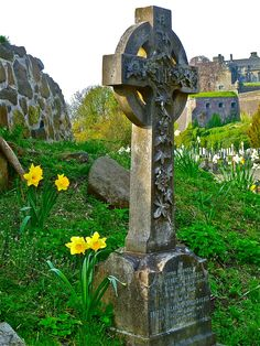 Stirling, Scotland - this photo reminds me- I took tons of pictures in the cemetery in striling