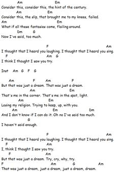 Chords Used: Losing My Religion - REM Song Sheet: If you have found this video/song sheet useful please consider making a small donation via PayPal or gofundme to help with further tutorial creation and site administration. Thank