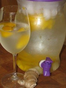 Super METABOLISM Boosting Day Spa Mango Ginger Water- 0 calories. 10 Times Stronger than the Apple Cinnamon Water! Ginger and Mango both are BIG METABOLISM BOOSTERS! Lose 3 lbs by Sunday! DRINK UP!