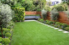Garden Design Layout Modern, Back Garden Design, Contemporary Garden Design, Backyard Garden Design, Landscape Design, Garden Design Plans, Backyard Ideas For Small Yards, Small Backyard Landscaping, Backyard Patio