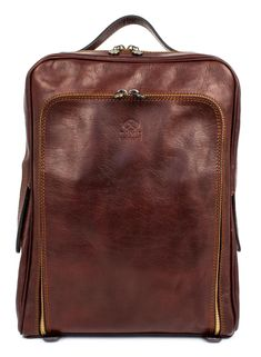 Mens Leather backpack Leather bag Brown leather backpack  07123eb6bcb0e