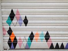 street art by virginhoney, via Flickr
