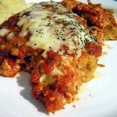Aubergine Parmigiano Recipe on Yummly