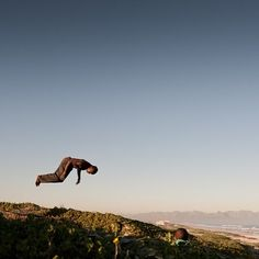 BOY A by Jac Kritzinger #photocircle #nofilter #happyfriday #photoart from #southafrica #jump #reachforthesky #blueskies #landscape_captures  A boy caught mid-air while jumping on a #trampoline on #Muizenberg #beach South Africa.