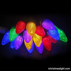 C7 Christmas light strings made in China | iChristmasLight C7 Christmas Lights, Led String Lights, Light Colors, North America, Traditional, China, Bright Colours, Porcelain