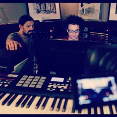 TOMO + JAMIE IN THE LAB, GETTING READY FOR VyRT! #MARSX