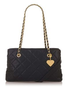 **Kate Kiss Frame Quilted Bag by Marc B
