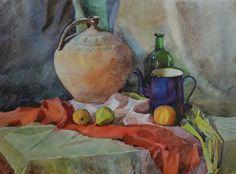 Still life (2011)_60x40 cm_watercolor, paper