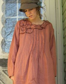 Artsy Shirts - Handmade Clothing.     Love the pleats down the front.     I think maybe a diff. color, though.