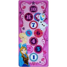 Disney Frozen Hopscotch Game Rug 8d4555b210
