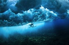 Underwater world  #gothere #iscored #fiji #surfing