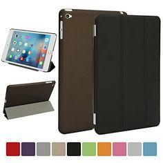 Besdata® iPad mini 4 Hülle - Ultra Dünn Edles Smart Cover Schutz Hülle Case Cover Leder Tasche Etui Schutztasche + Back Case für Apple iPad mini 4 - inkl. Displayschutzfolie Reinigungstuch Stift mit Multi Ständer - Unterstützt Sleep / Wake Funktion (iPad mini 4, Schwarz) Besdata http://www.amazon.de/dp/B014STBQLA/ref=cm_sw_r_pi_dp_tSGewb15RFKBT