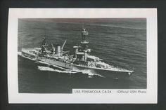 USS Pensacola CA-24 cruiser  WW 2