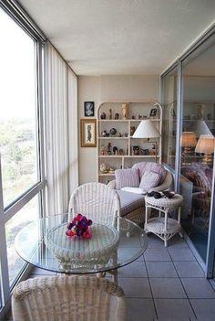 Фото: Большие идеи для оформления небольших уютных балконов и лоджий (Фото)