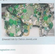 JewelLucia Jewellery AS SEEN in Beads & Beyond Magazine (UK), June 2011