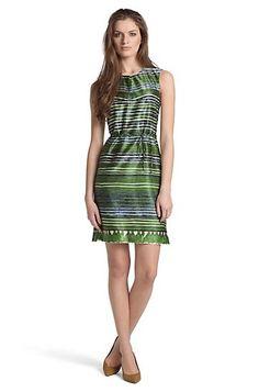 Fashion-Dress ´Derame` aus Seiden-Baumwoll Mix by Hugo Boss