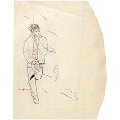 Andy-Warhol-+James+Dean-+primeiros+desenhos,+1957.jpg 600×600 ピクセル