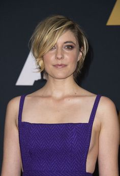 Greta Gerwig Messy Cut - Greta Gerwig attended the Governors Awards wearing her hair in a messy bob.
