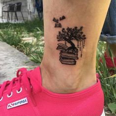 Are you a book lover and a tattoo enthusiast? These book tattoos displayed in the gallery are among some of the best book tattoo designs ever inked!