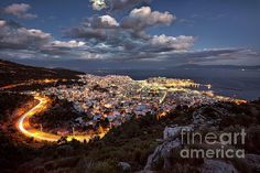 Beautiful City by Elias Pentikis Poster Prints, Framed Prints, Canvas Prints, Busy City, Fine Art Photography, Fine Art America, Greece, Design Inspiration, In This Moment