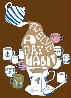 Twelve a day habit: KateSutton #LeSportsac