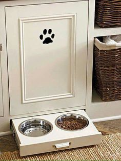 Pet storage ideas