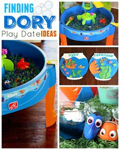 Finding Dory Play Date ideas - Snack, Craft & Play! #Step2Ambassador