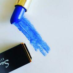 Blue lipstick...#beautyflatlay makeup flatlay Blue Lipstick, Makeup, Beauty, Make Up, Makeup Application, Beauty Makeup, Beauty Illustration, Diy Makeup, Maquiagem