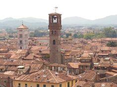 Panorámica de la ciudad de #Lucca (#Italia)