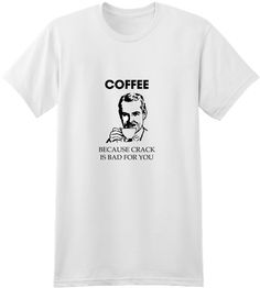 Check out this design, Coffee Not Crack on SellMyTees.com! #coffee #tea #bed #sleeping #tired #nap napping #caffeine #funny #phrase #saying #quote #spreadshirt #djbdesign #tee #shirt #tshirt #apparel #clothing #design #designs