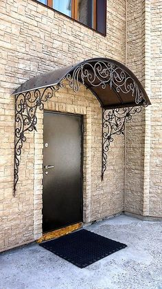 Over 15 amazing wrought iron door design ideas, ., The 15 Best Wrought Iron Door Design Ideas, decor design Although ancient throughout notion, this pergola continues to be having somewhat of a. Tor Design, Gate Design, House Design, Iron Gates, Iron Doors, Iron Front Door, Front Porch, Gazebos, Wrought Iron Decor