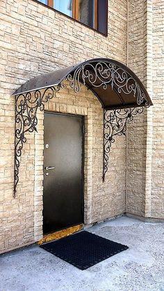 Top 15+ Amazing design ideas of wrought iron doors #WroughironDoor #IronDoor #FrontDoorIdeas #FrontDoorDesign #HomeDesign #HomeDecor #InteriorDesign