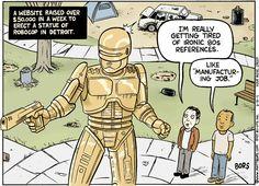 RoboCop estatua dorada que debería existir