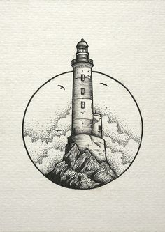 inspiration lighthouse light cloud drawing Cloud draw drawing Inspiration Light Lighthouse is part of Stippling art - Cool Art Drawings, Pencil Art Drawings, Art Drawings Sketches, Tattoo Drawings, Tattoo Sketches, Simple Drawings, Arte Inspo, Cloud Drawing, Drawing Drawing