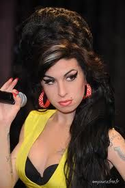 The inimitable Amy Winehouse