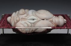 jason briggs' grotesque porcelain objects are surrealistically erotic