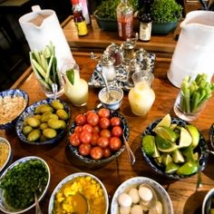 Make Your Own Bloody Mary Bar