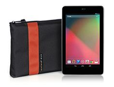 WaterField Designs Nexus 7 Travel Express - Made in San Francisco, CA     Buy: http://www.sfbags.com/products/nexus-7-cases/nexus-7-travelexpress.php    An all-in-one mobile office solution. Store and protect the Nexus 7, cables, power brick & accessories. Soft, scratch-free pockets protect each, a rigid plastic insert protects the Nexus 7 screen. Available in black + seven earthy color stripe choices. YKK zipper closes the deal. Add  optional D-rings & strap, & sling it over your shoulder.