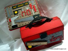 Creations by Patti: A Tool Card and Box Gift