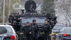 The militarization of the Amercan Police.