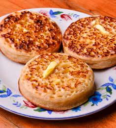 Vegan Sourdough Crumpets   |   Cultures for Health-   Warm and delightful!