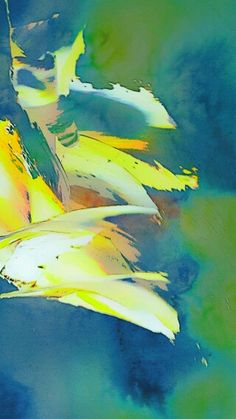 """""""In tribute..."""" Original watercolour art abstract by Irena Kristina Rose Forrester copyright 2015 all rights reserved"""