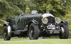 Bentley with a Spitfire engine The Meteor Bentley exudes vintage values while being thoroughly modern in many respects #rollsroycevintagecars