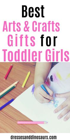 Do you have a creative little girl and need to find a gift for her? Check out these perfect arts and crafts gifts for a toddler girl! Toddler Girl Gifts, Toddler Fun, Toddler Preschool, Toddler Activities, Toddler Stuff, Diy Crafts For Kids, Arts And Crafts, Family Crafts, Rainy Day Activities