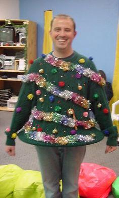 Human Christmas Tree!
