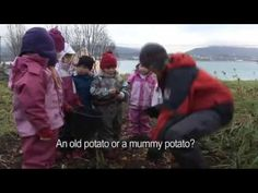 This is AMAZING!!!  A video from an outdoor kindergarten in Norway where these are mainstream schools.  They are outside the entire day 3 days a week in all kinds of weather.  This sheds a little light on why outdoor learning is crucial.  Most of all, I love Meg's explanation on her post below the video.  I would love to put my kids in this school!