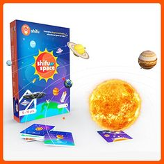 Shifu Space - 60 Space Objects in - Augmented Reality Educational Game (Gift for Kids - Boys & Girls Age Years - Fun & STEM Learning) - Solar System, Satellites, Missions & Key People Toys For Little Kids, Games For Kids, 6 Year Old Toys, Stem Learning, Unique Toys, Educational Games, Child Love, Augmented Reality, Solar System